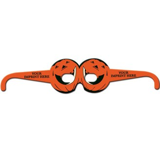 22139 - Pumpkin Glasses Round