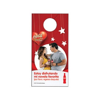 74441-D - Door Hanger Printed Full Color