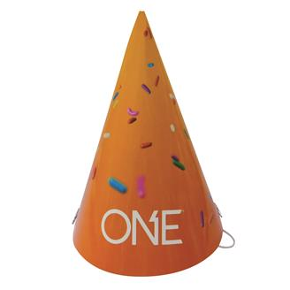 A19D - Party Hat W/Elastic Band Full Color