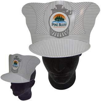 A-4 - Casey Jones Train Conductor Hat With Elastic band