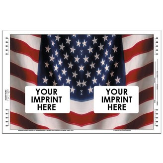BC-201 - Book Cover - Stock Graphic United States Flag