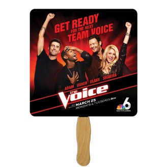 BF-5 - Square Hand Fan