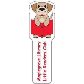 BKM708 - Dog Plastic Bookmark