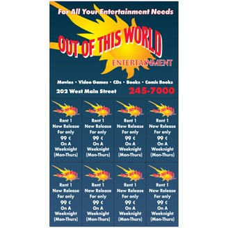 "CPM703 - 7"" x 4"" Coupon Magnets"