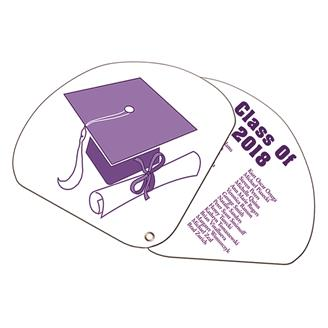 GEF-1 - Expandable 2 Part Graduate Hand Fan