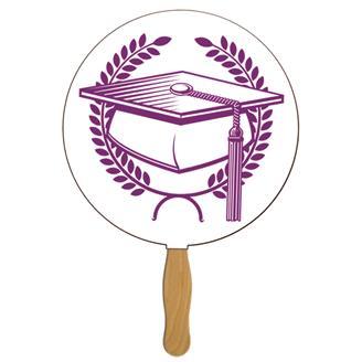 GF-3 - Round Graduate Hand Fan
