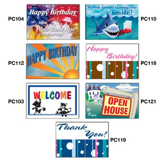 """PC401 - 4"""" x 6"""" Stock Post Cards"""