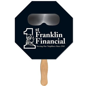 SSF-4 - Stop Sign Sun Shade Hand Fan