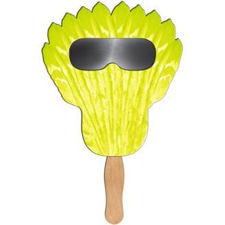 SSF-8 - Feather Sun Shade Hand Fan