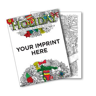 UCBHOL - Holiday Coloring Book For Adults