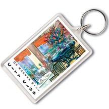 Jumbo Rectangle Acrylic Keytags
