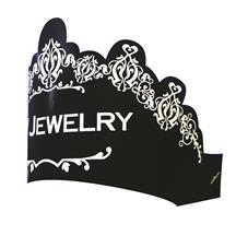 Tiara with elastic