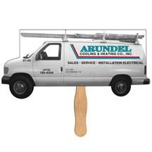 Moving Truck Hand Fan