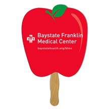 Apple Fruit Hand Fan