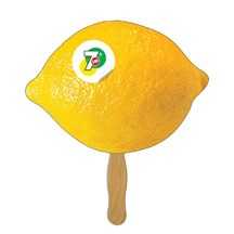 Lemon / Lime Fruit Hand Fan