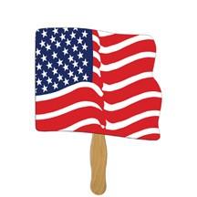 Flag Hand Fan
