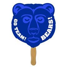 Grizzly Bear Hand Fan