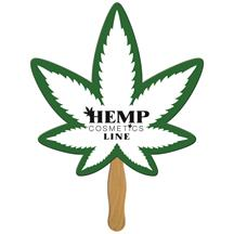 Cannabis Hand Fan