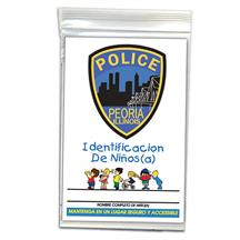 Child ID Kit Spanish Full Color