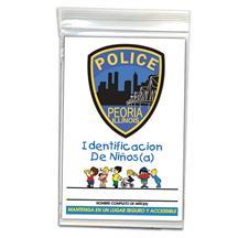 Child ID Kit - Spanish