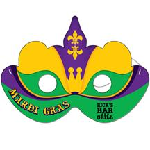Mardi Gras Mask Full Color