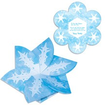 Snowflake Gift Card Holder/Holiday Card