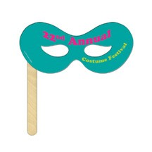 Superhero Mask on a Stick