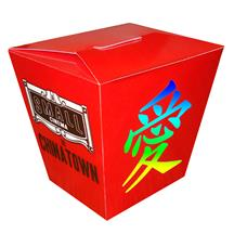 Full Color Chinese Take-Out Style Box