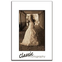 "4"" x 6"" Easel Photo Back Frame"