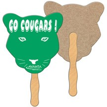 Cougar Recycled Hand Fan