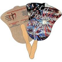 Bell Recycled Hand Fan