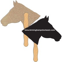 Horse Recycled Hand Fan