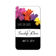 Save the Date Magnet Rounded