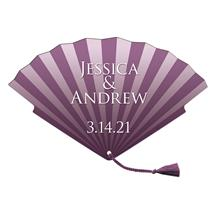 Tassel Wedding Hand Fan tassel included