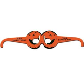 22139 - Pumpkin Glasses Round
