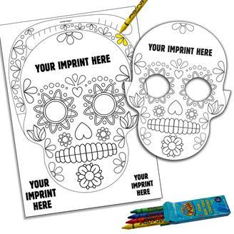 22140 - Skull Pop-Out Mask Kit