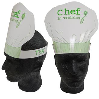 23149 - Chef's Hat Headband