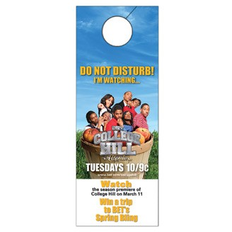74442-D - Full Color Door Hanger