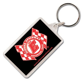 84310-D - Rectangle Acrylic Keytags