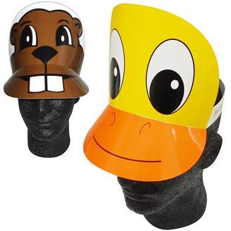 99131 - Duck/Pig/Beaver Visor