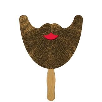 BD101 - Beard on a Stick - Offset Printed