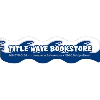 BKM709 - Wavy Plastic Bookmark