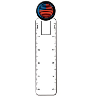 BM8807 - Ball Top Paper Bookmark
