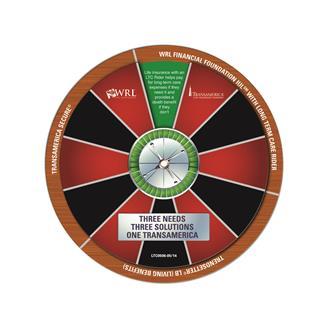 CS-135 - 2-Part Spinner Calendar