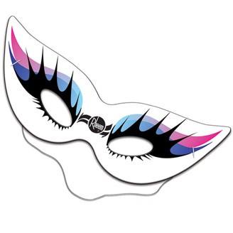 D97126-3 - Cat Mask Full Color