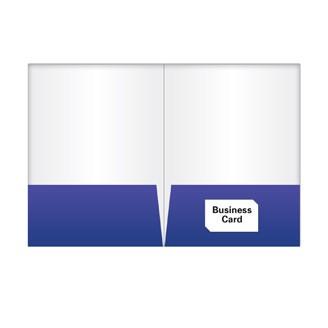 FL-503R - 2 Glued Pocket Folder with Slit on Right Side