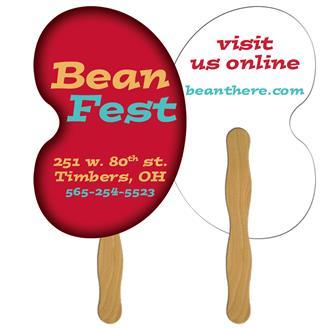 FLF-143 - Bean Fast Hand Fan (2 Sides) 1 Day