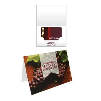 GC5D - Greeting Gift Card Holder Printed Full Color