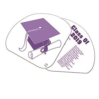 GEF-1 - Expandable 2 Part Graduate Hand Fan