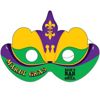 M-23 - Mardi Gras Mask